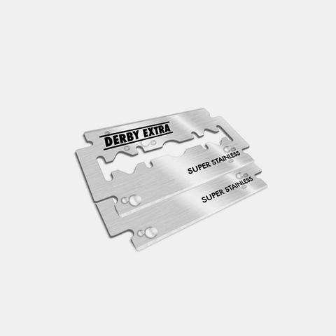 CRUX  - DERBY EXTRA DOUBLE EDGE BLADES (10-PACK)  $3