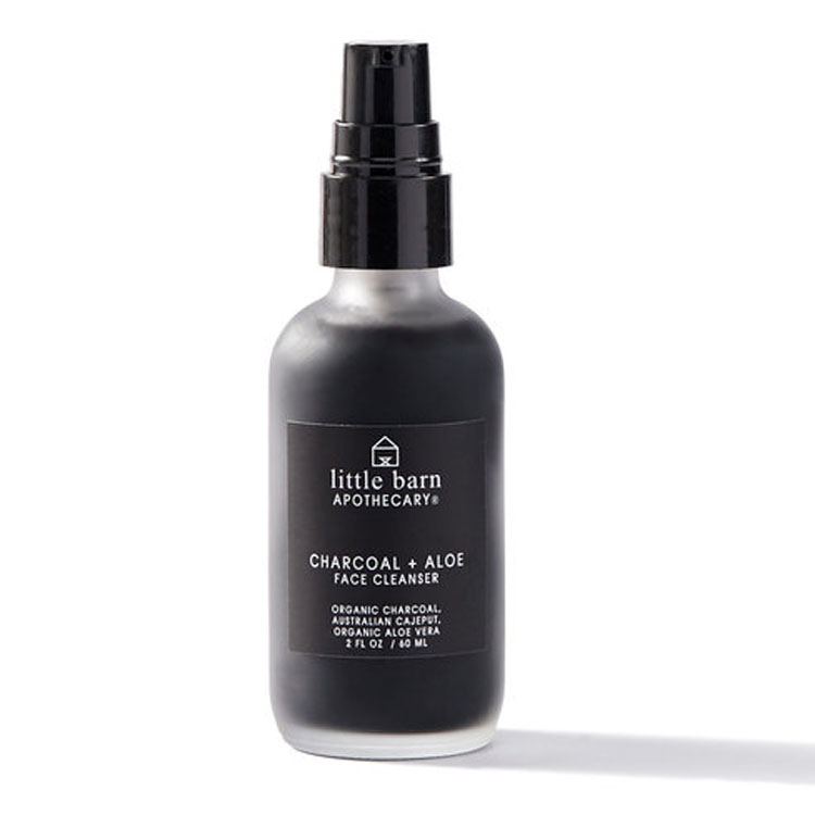 LITTLE BARN APOTHECARY  - Charcoal + Aloe Face Cleanser  $26