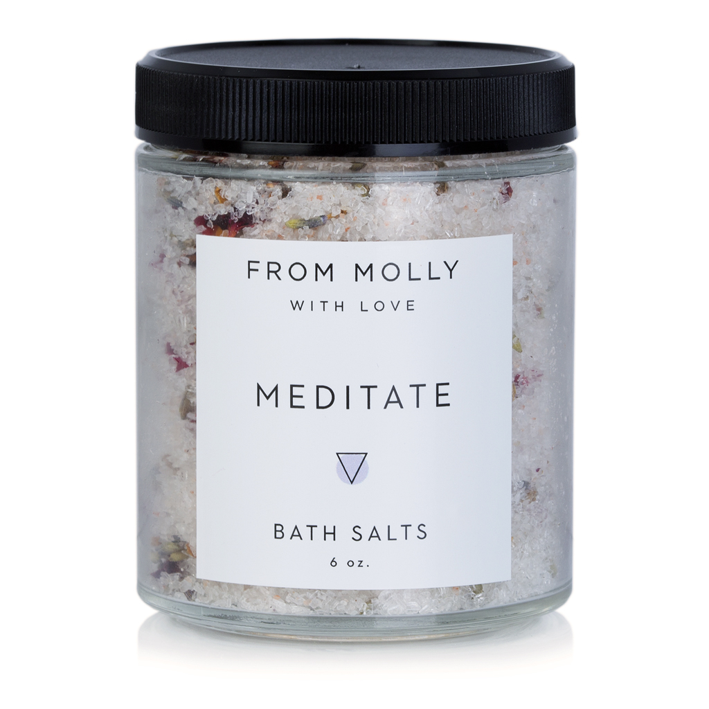 FROM MOLLY WITH LOVE  - MEDITATE BATH SALTS  $17
