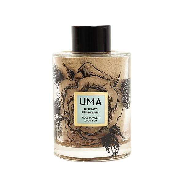 UMA  - ULTIMATE BRIGHTENING ROSE POWDER CLEANSER  $65