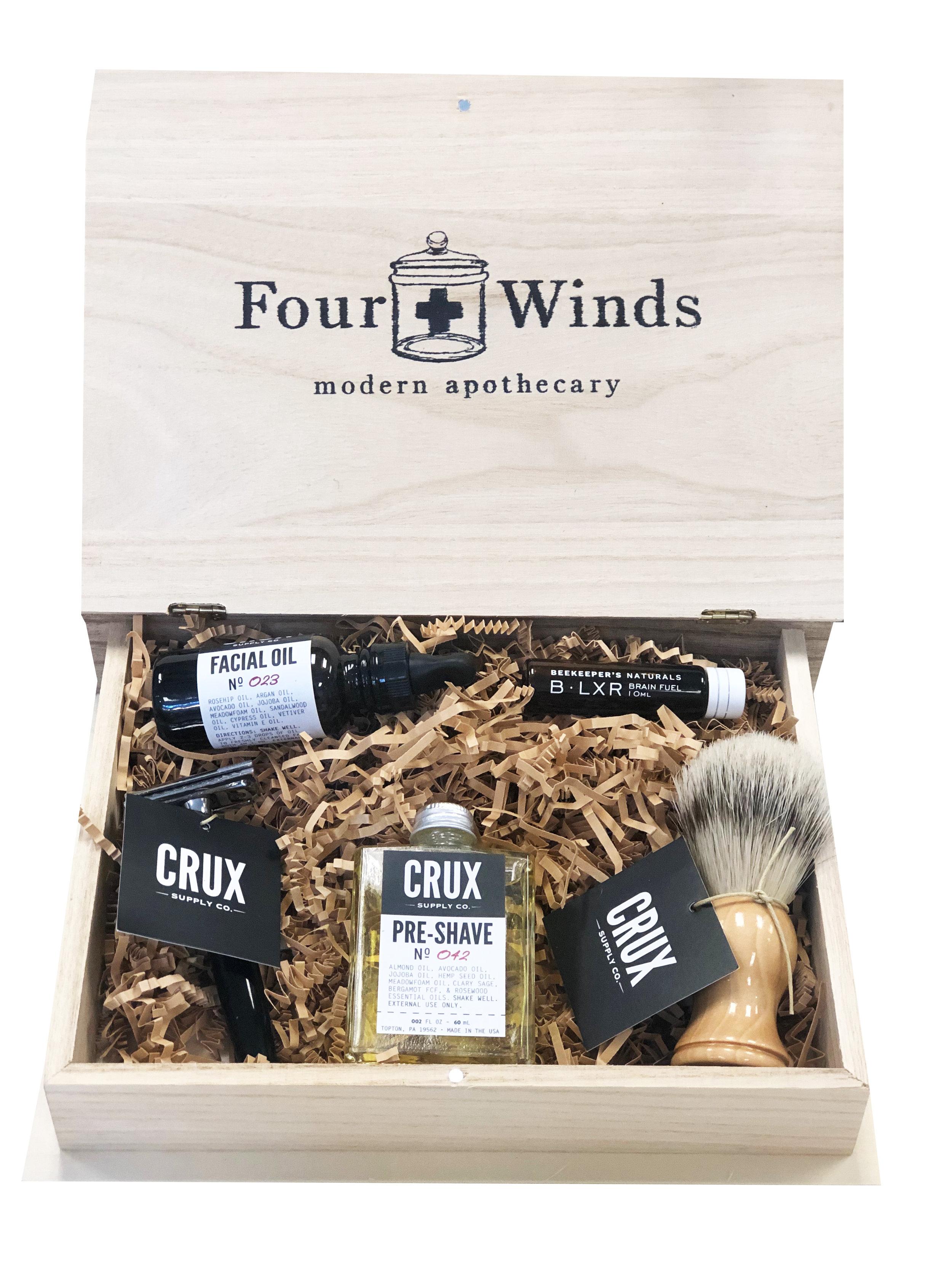 FOUR WINDS  - MEN'S WELLNESS BOX  $115