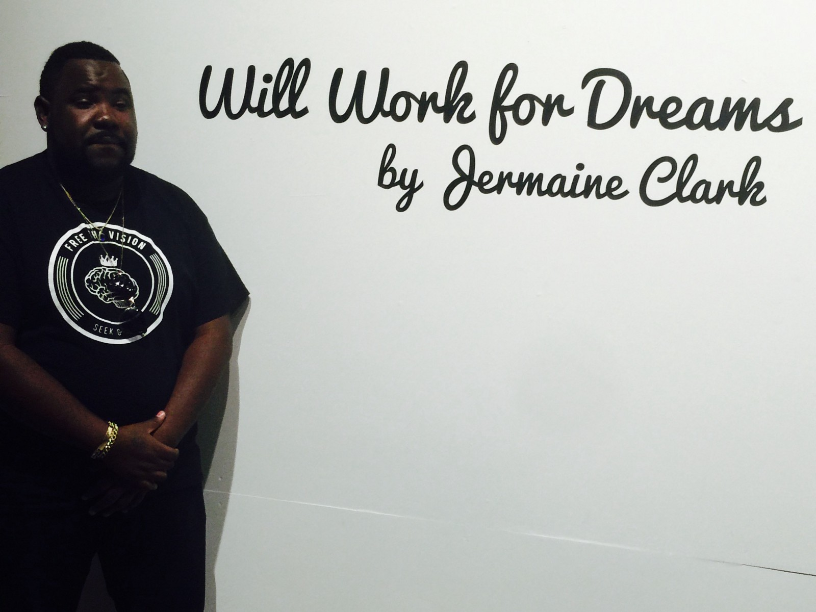 Free The Vision hosting the opening night of the Jermaine Clark Exhibit