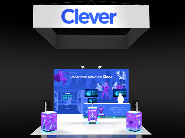 CLEVER - ISTE BOOTH