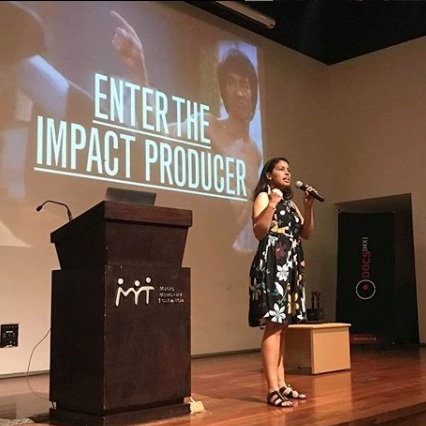 Impact production and sustainability workshops. -