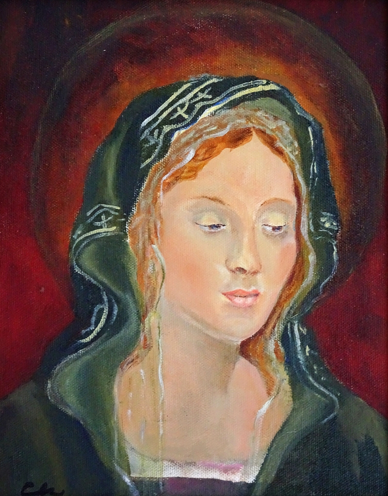 Carol Halton, Paintings, Madonna Series, Asheville-002.jpg