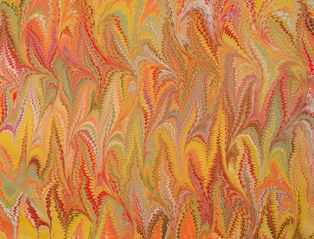 Ginny Moreland, Fine Art Marbled Paper, The Red House,Black Mountain-002.jpg