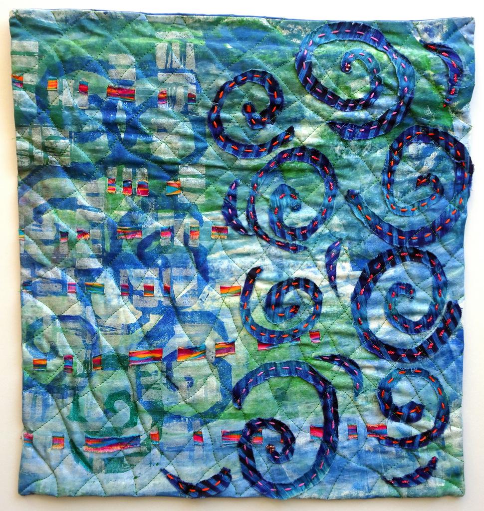 Martha Jane Petersen, Fiber Art, Quilted Art Wall Pieces, The Red House, Black Mountain-001.jpg