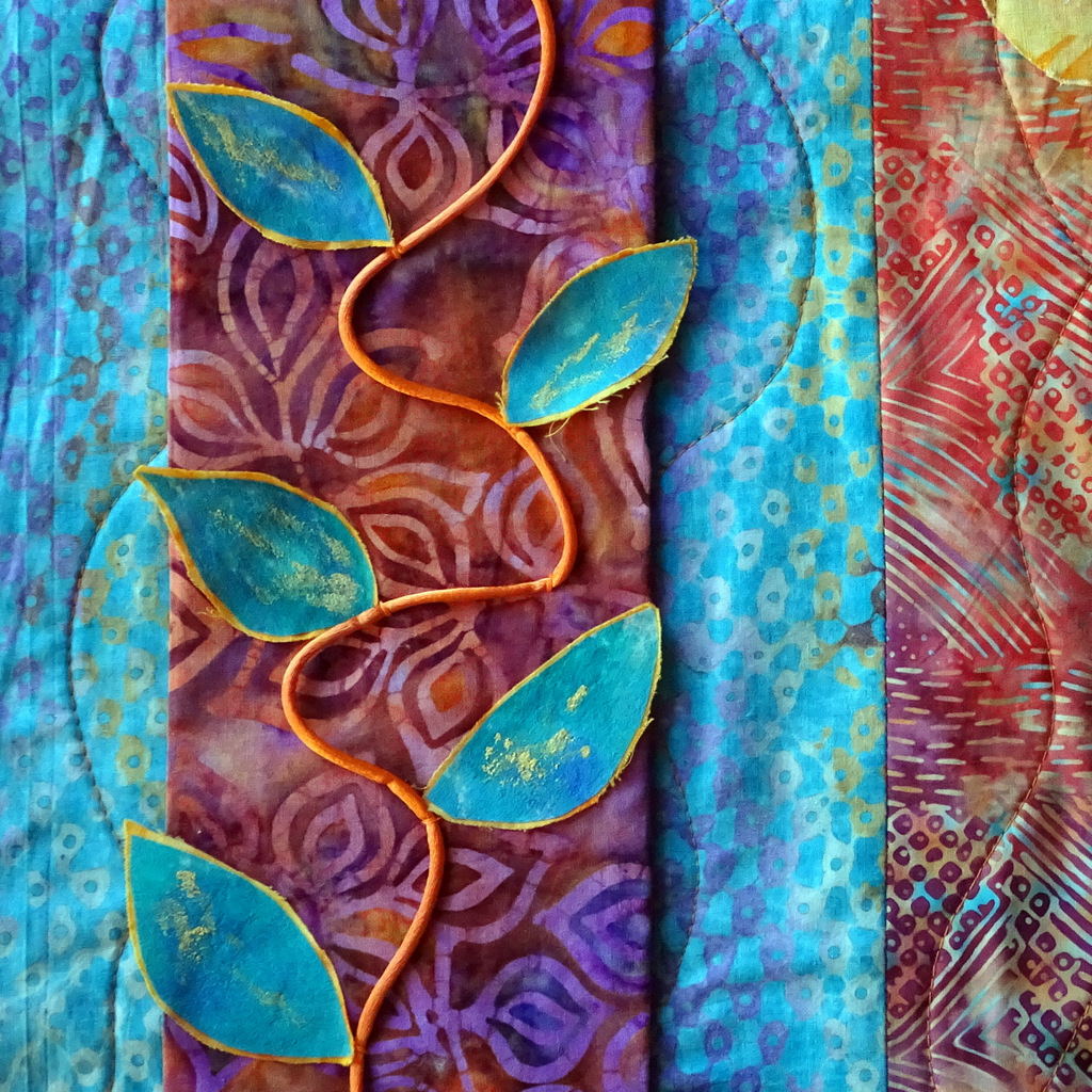 Martha Jane Petersen, Fiber Art, Quilted Art Wall Pieces, The Red House, Black Mountain-019.jpg
