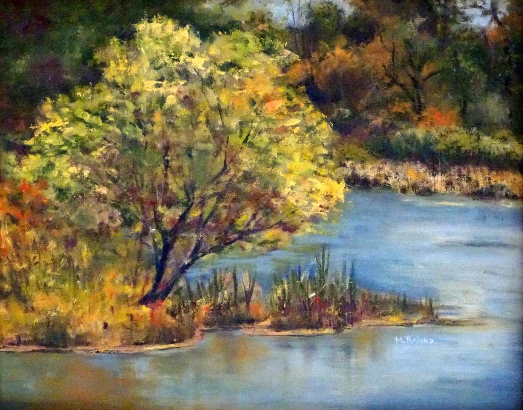 Martha Raines, Oil Painting, Black Mountain, NC-002.JPG