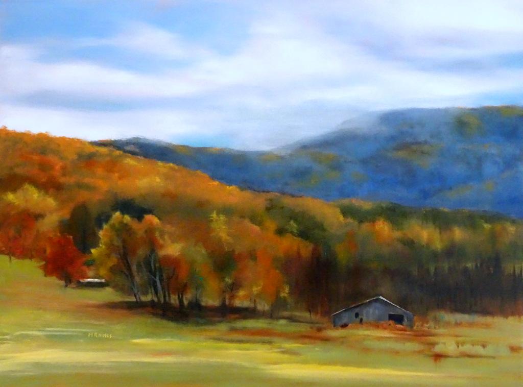 Martha Raines, Oil Painting, Black Mountain, NC-006.JPG