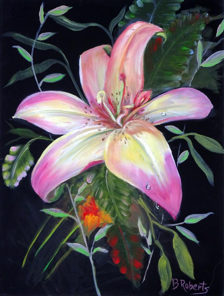 Bobbie Roberts, Painting, SVFAL, Black Mountain-008.JPG