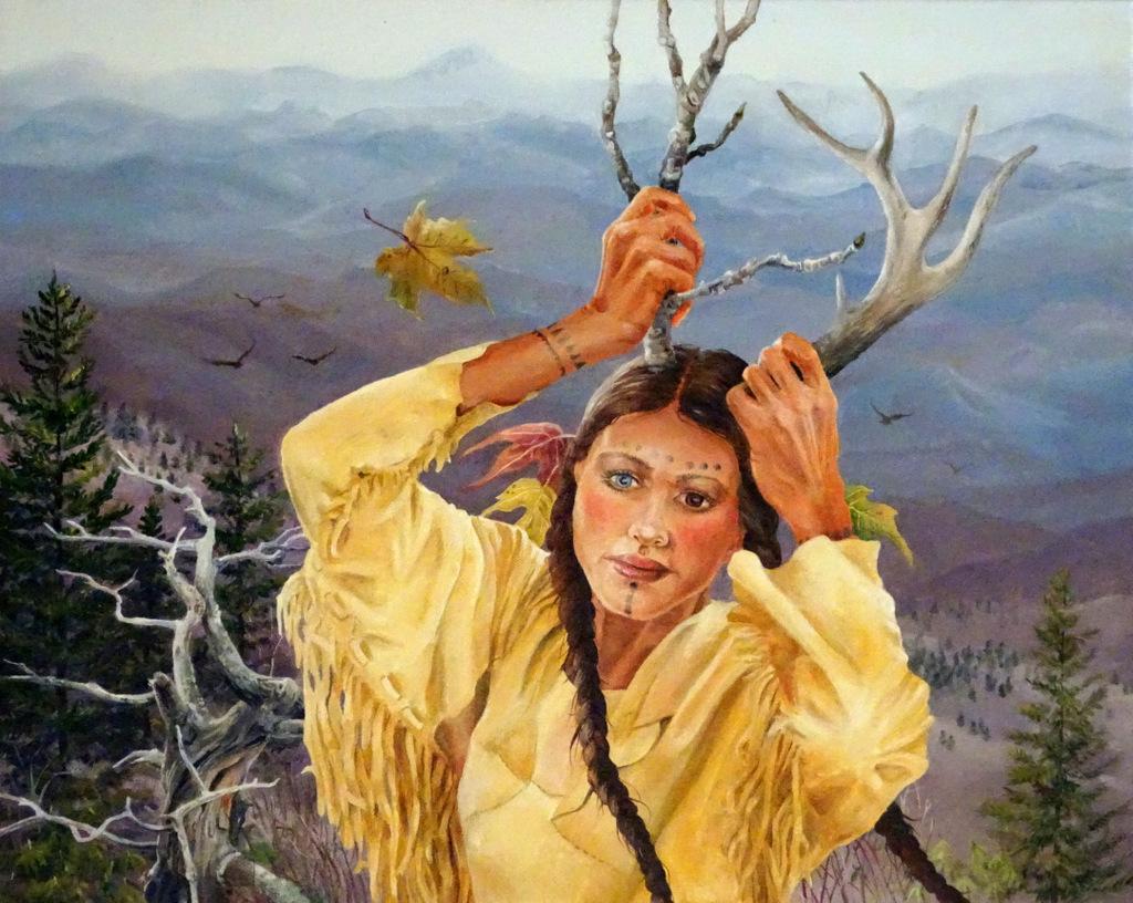Macia Dockey Smith, Fine Art Painting, The Red House, Asheville-015.JPG