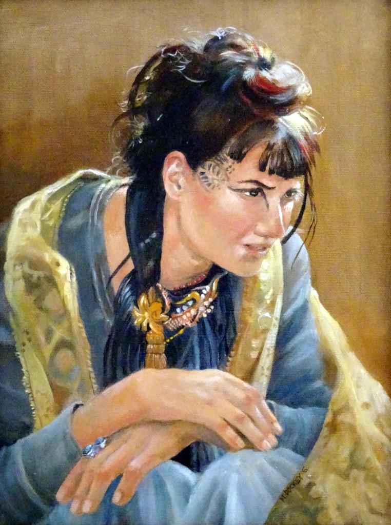 Macia Dockey Smith, Fine Art Painting, The Red House, Asheville-012.JPG