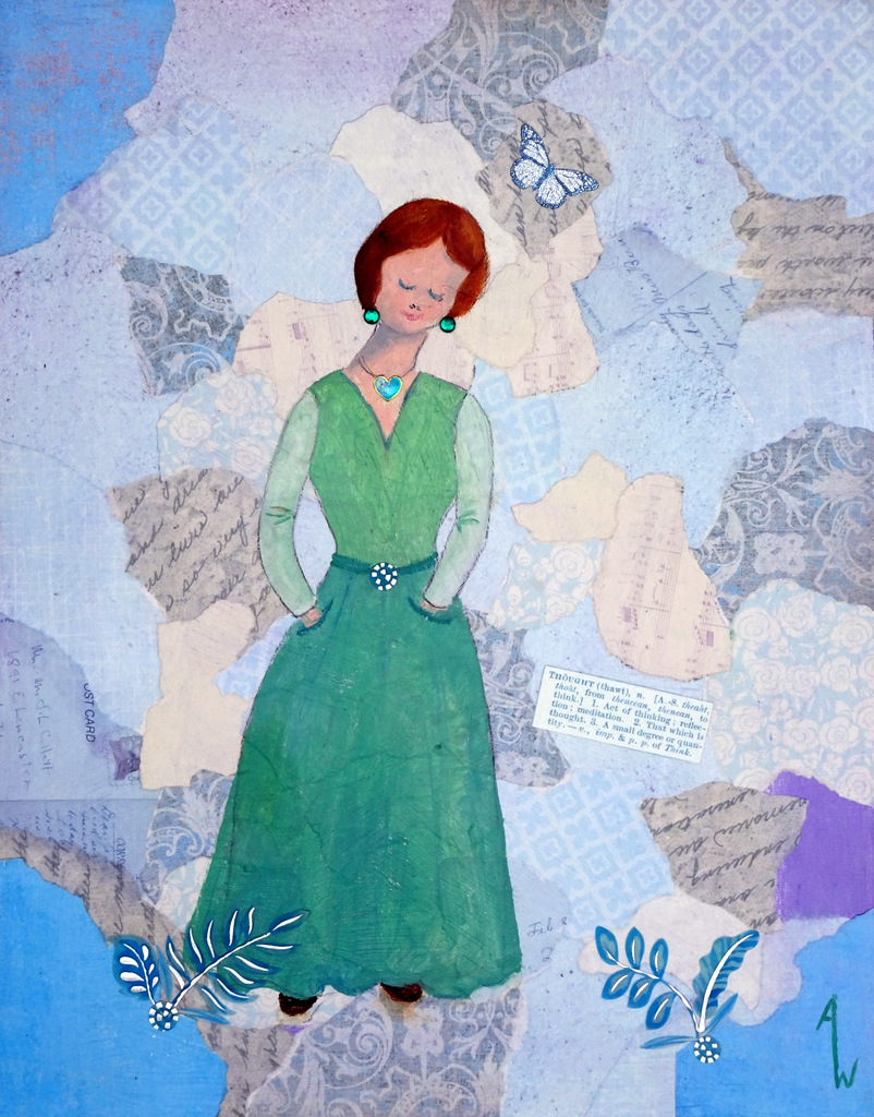 Ann Whisenant, Fine Art Paining, Black Mountain, NC, The Red House-003.JPG