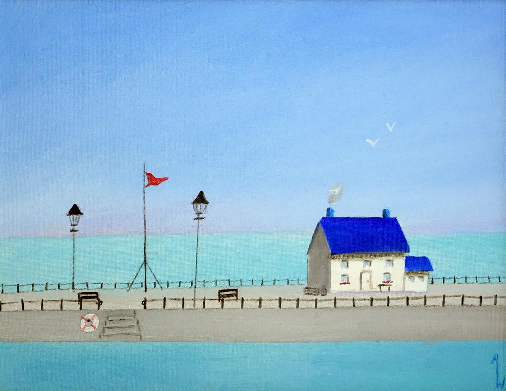 Ann Whisenant, Fine Art Paining, Black Mountain, NC, The Red House-005.JPG