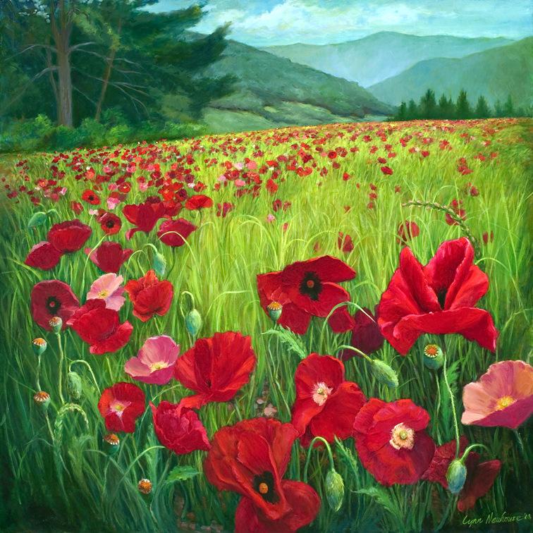 Lynn Newhouse, Painting, SVFAL.36x36-002.jpg