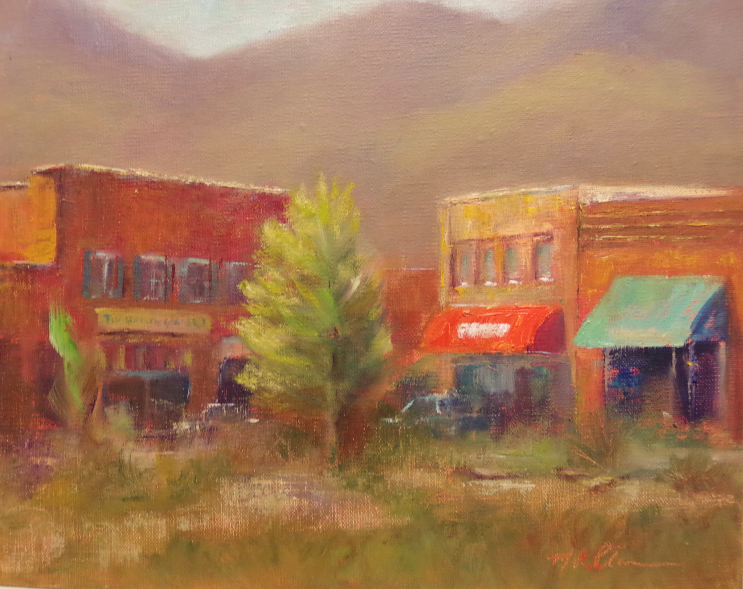 Oil Painting, Marilyn Place, SVFAL-009.JPG