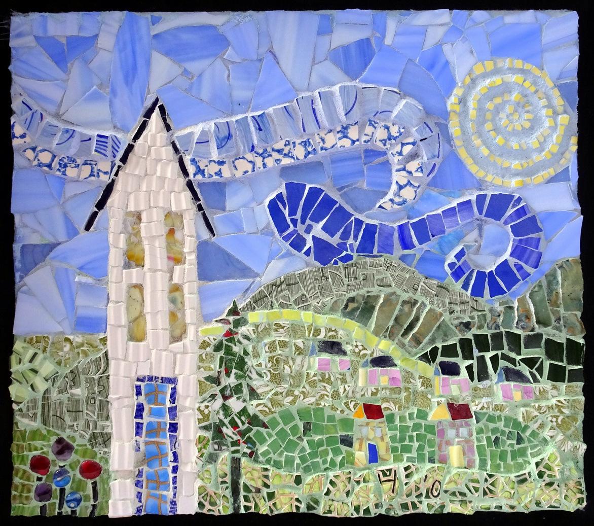 Pat Austin, Mosaic Wall Pieces, SVFAL-016.JPG