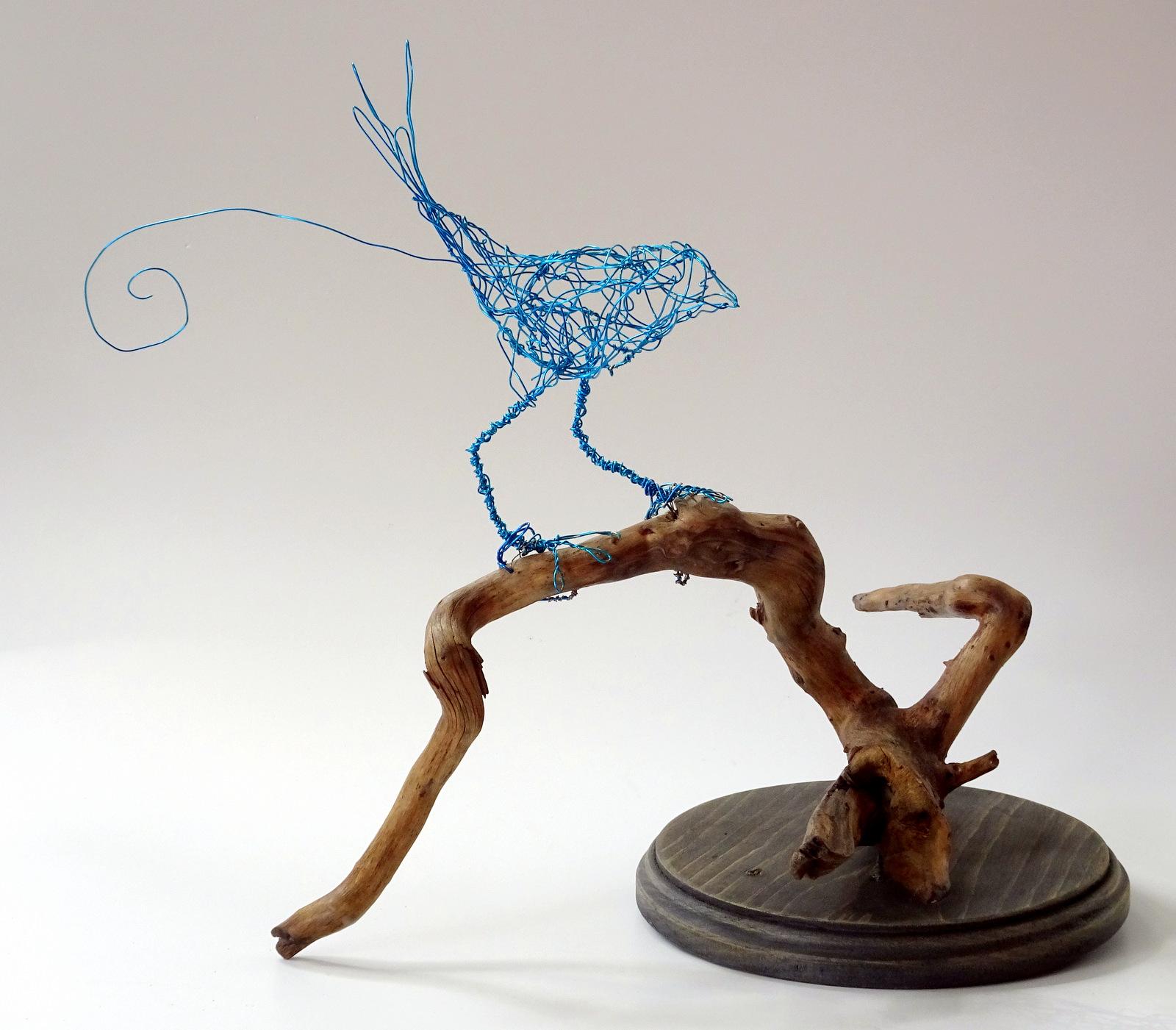 Lois Steele, Wire Sculpture, Fine Art, SVFAL-006.JPG