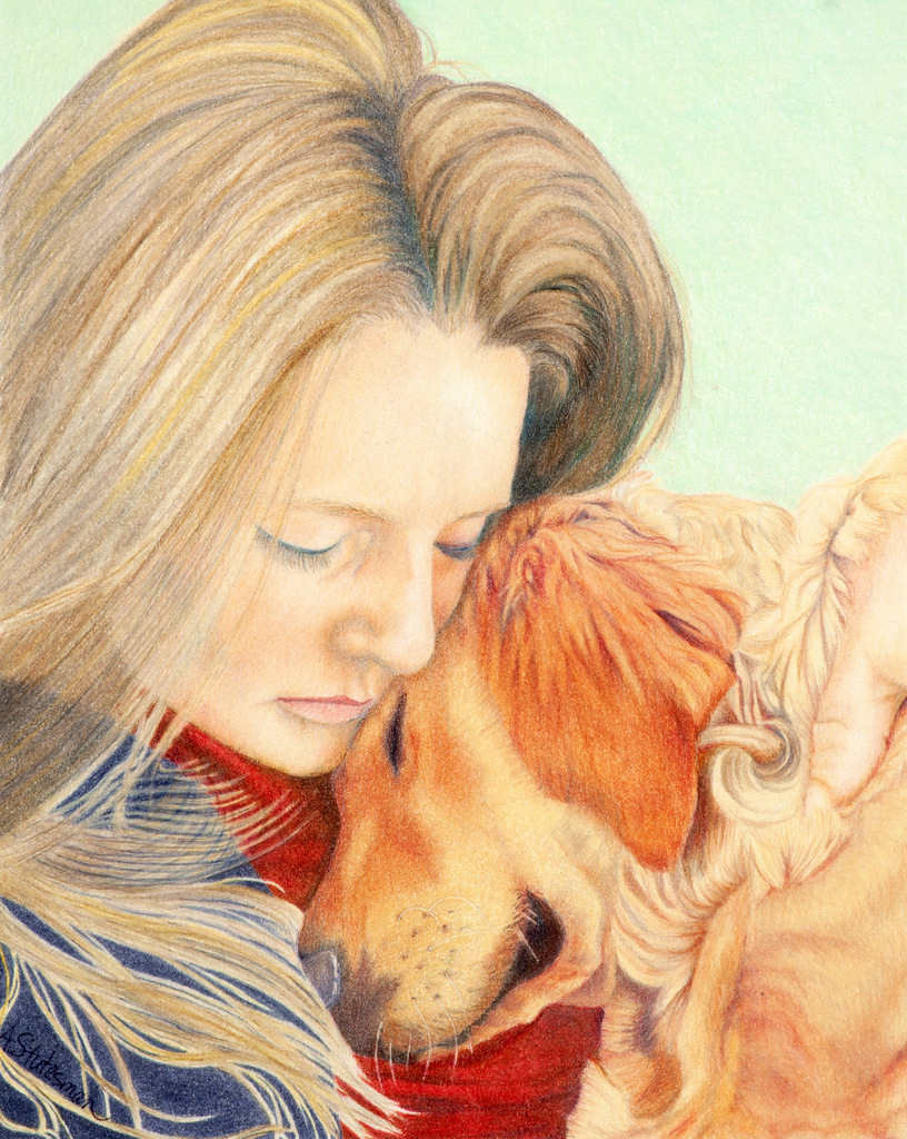 Andreas Stutesman, Colored Pencil, Dog Paintings-008.jpg
