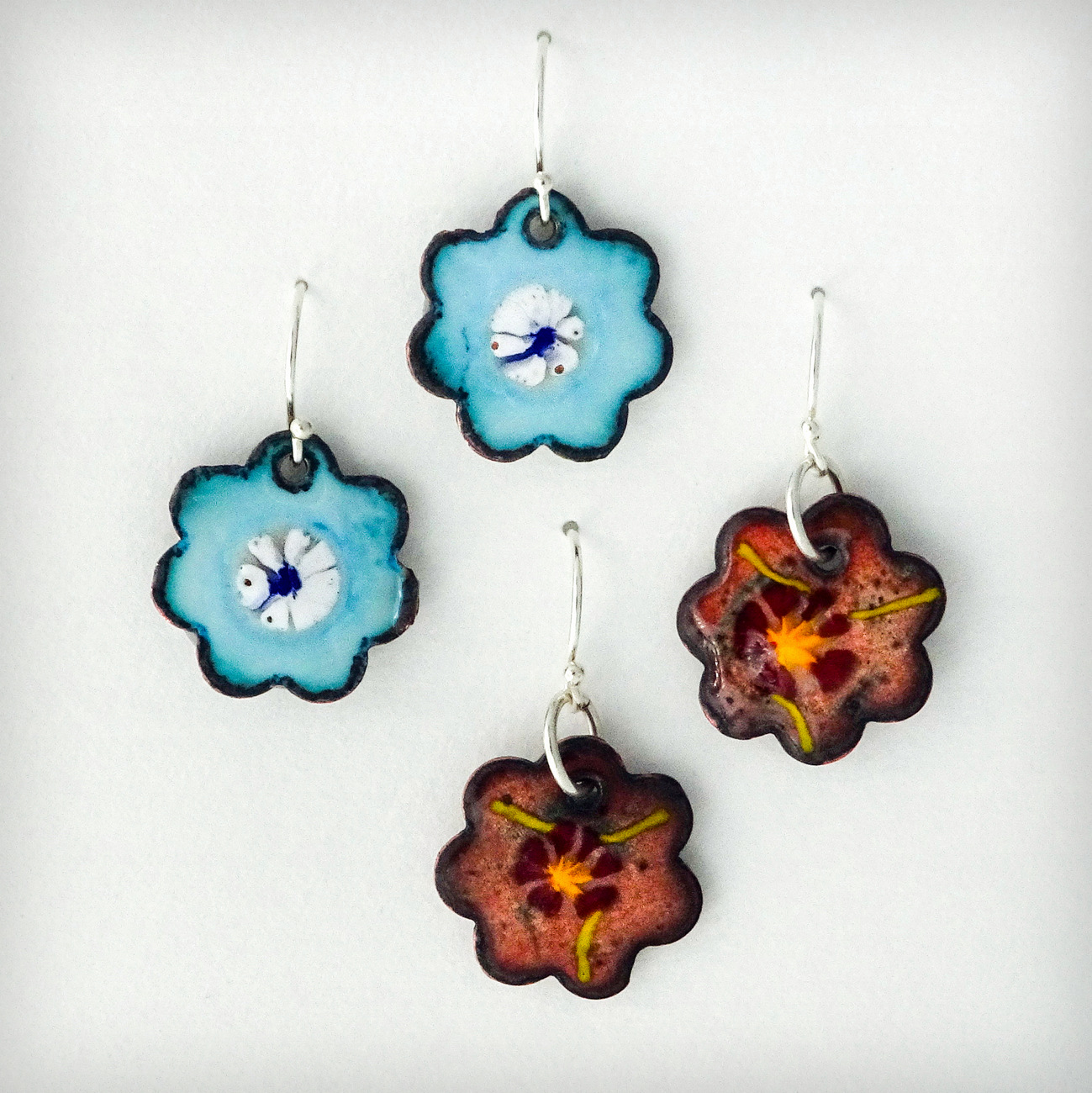 5-BLUE PANSY, D. McEachen, Flower Earrings-003.JPG