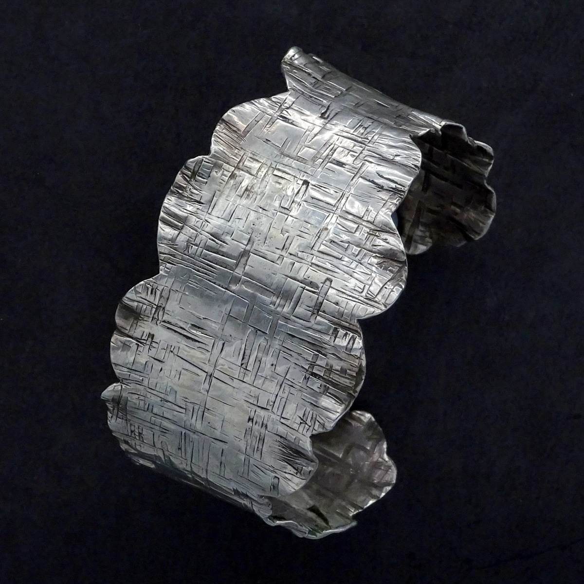 1-Silver Bracelets, Handcrafted Jewelry, Sylvia McCollum-011.JPG