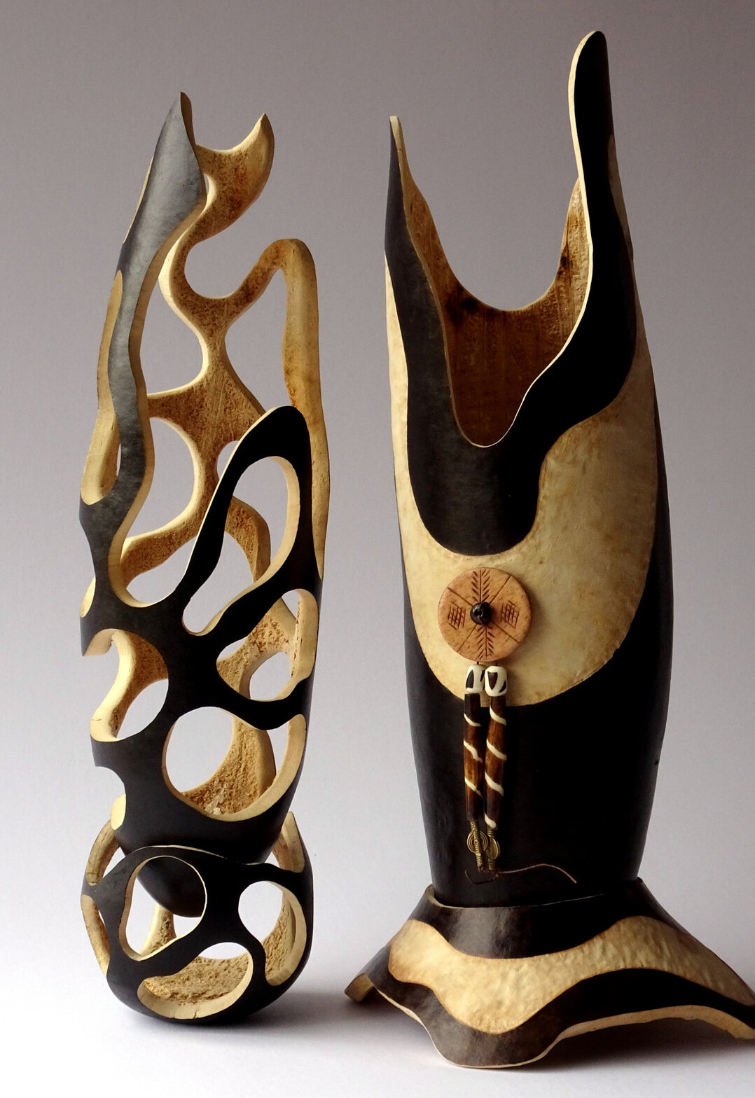 Sculpted Gourds, Barbara Syburg.jpg