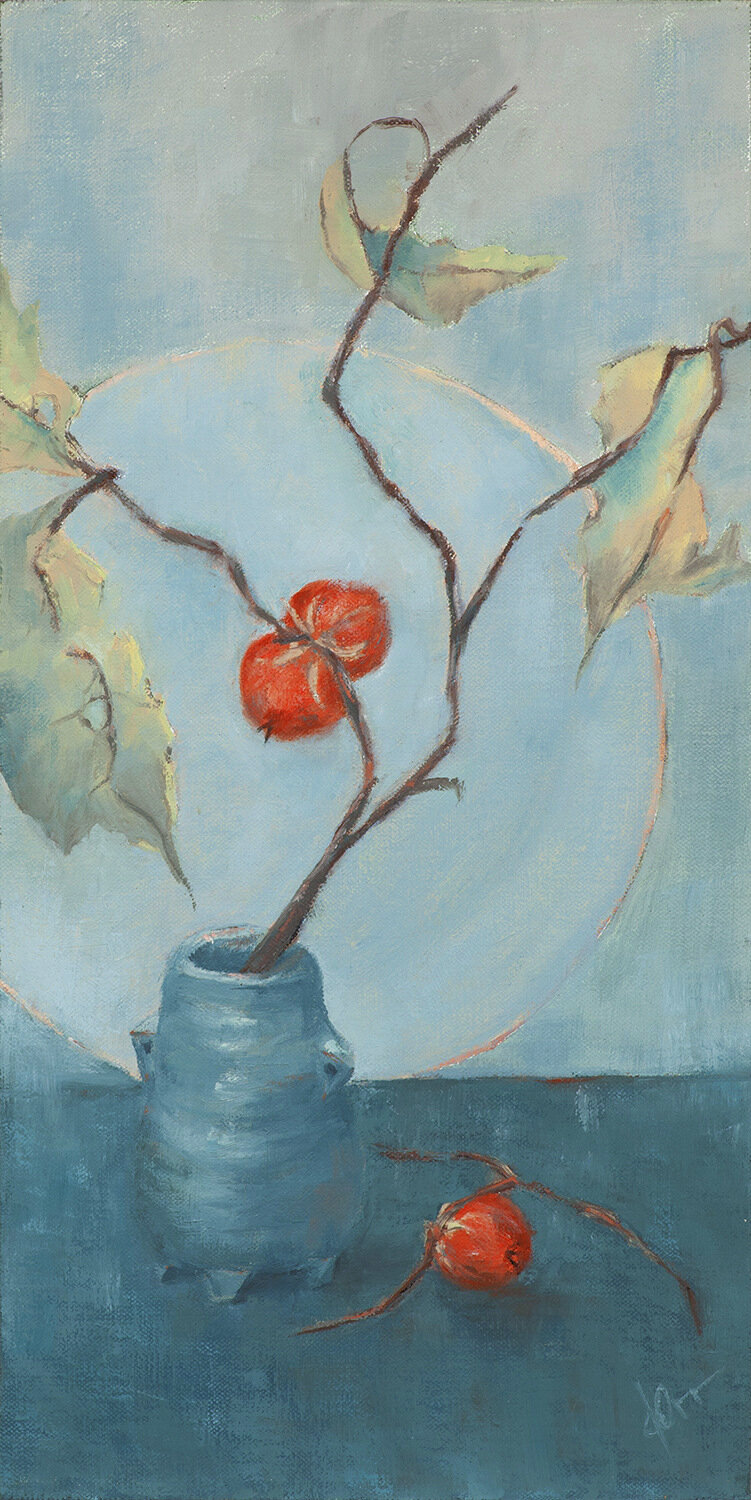Darcy Orr, Persimmons Painting, SVFAL-001.jpg