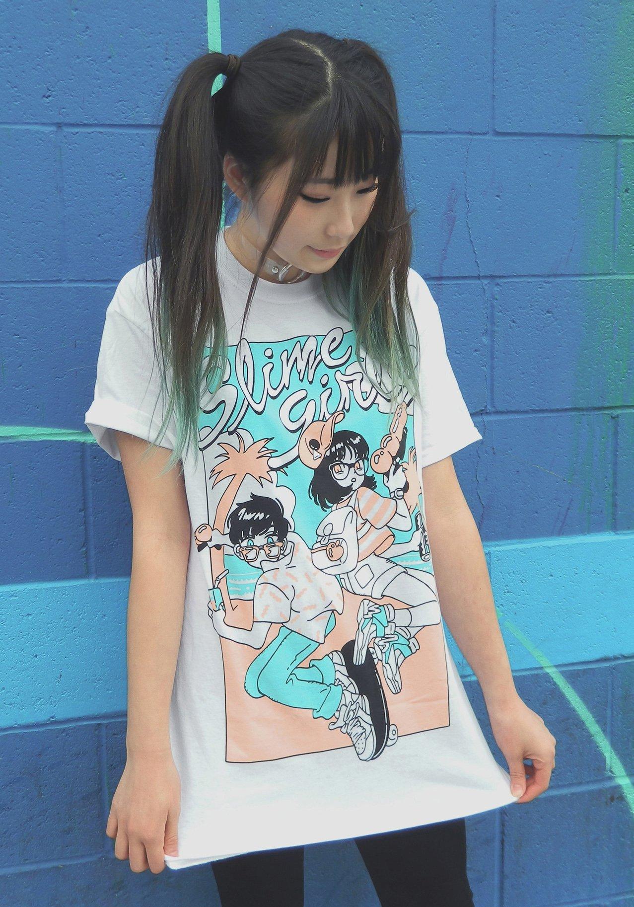 Slime Girls 2016 merchandise apparel
