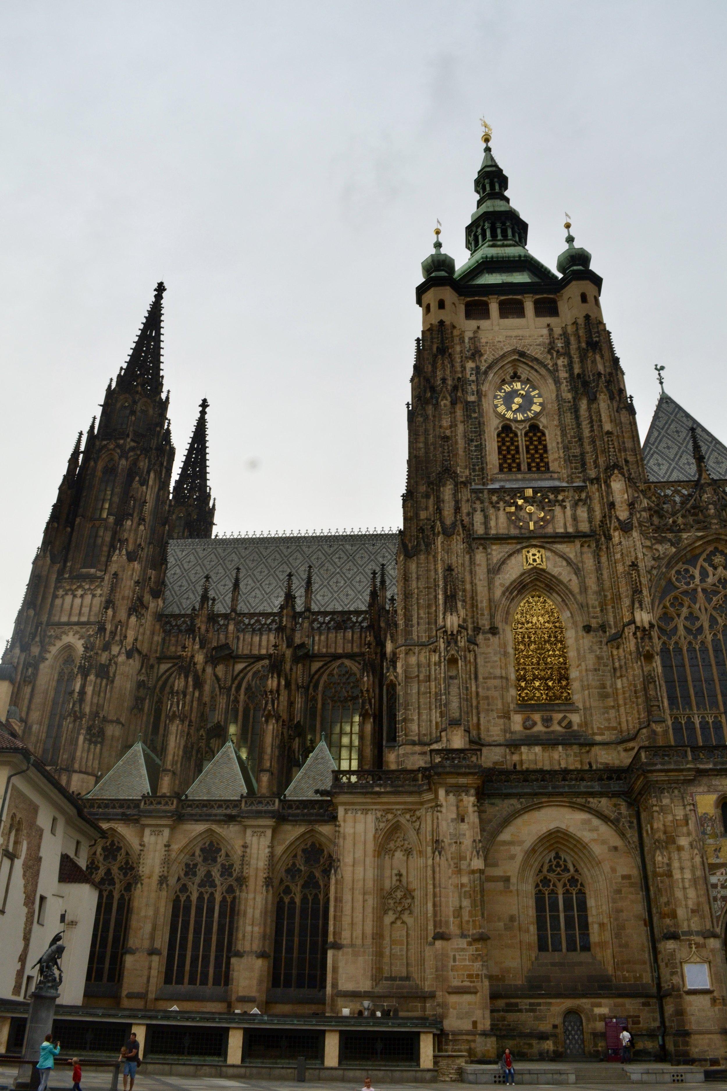 Katedrála Svateho Vita - Prague