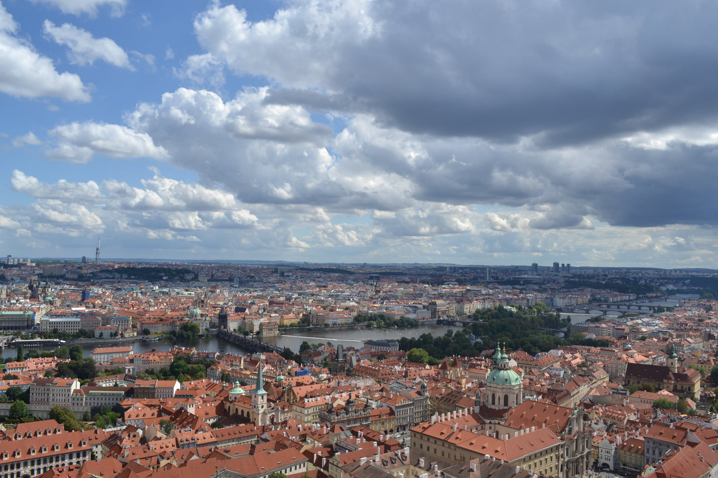 View from the Castle tower - 280 steps up