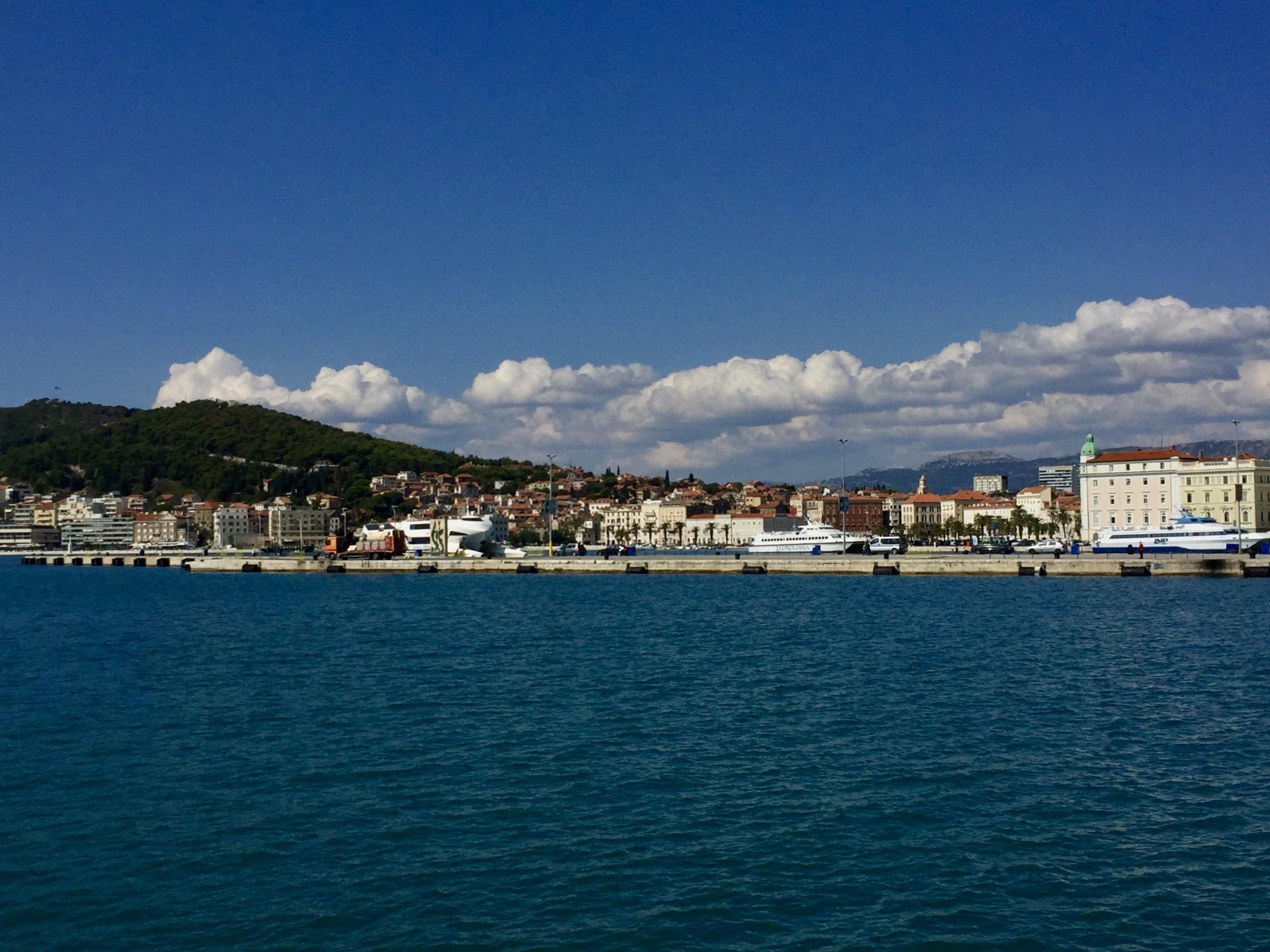 Arriving in Split