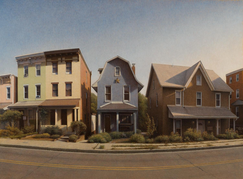 "The Little House Acrylic on Panel 32"" X 43"""