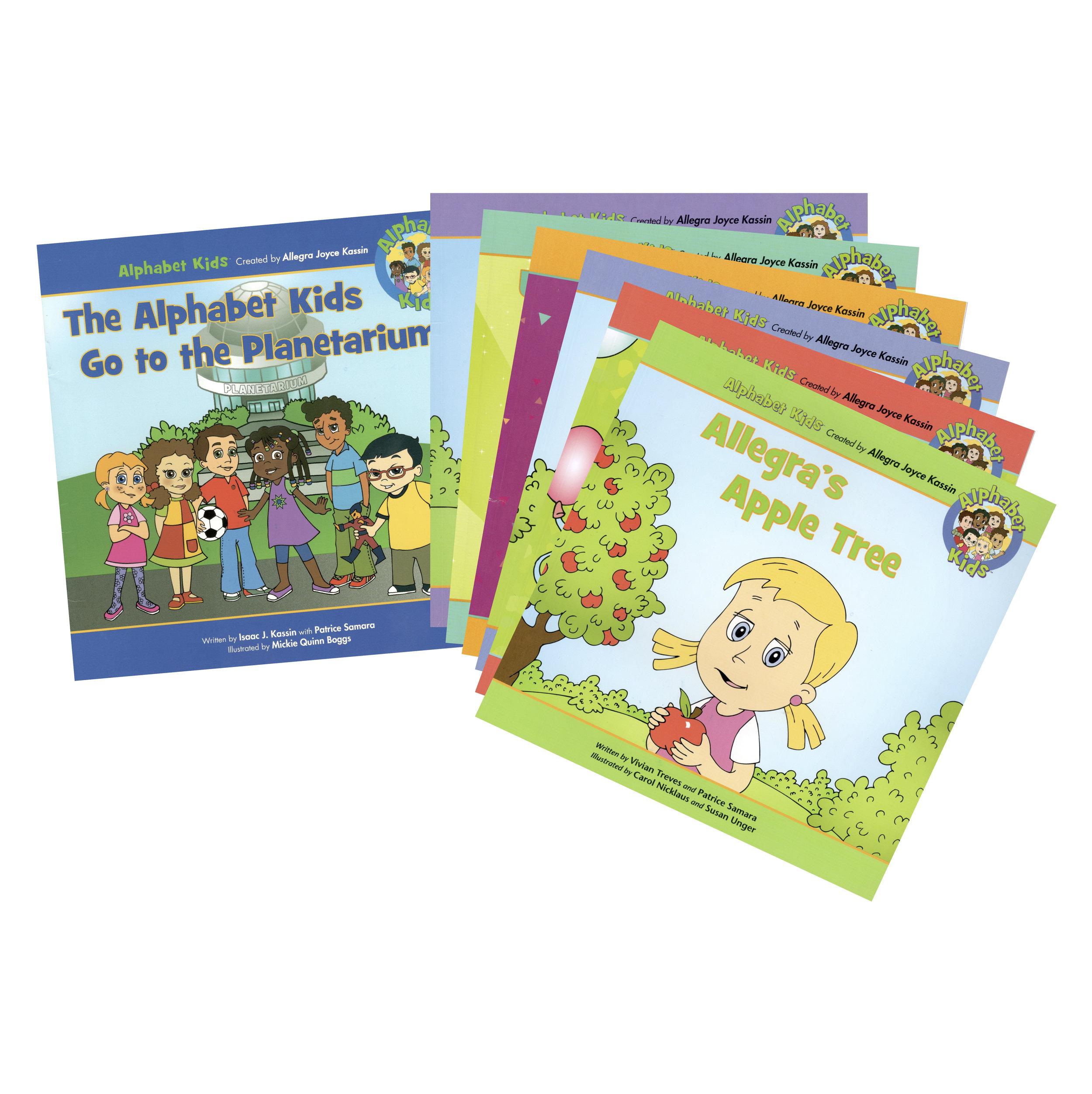 Alphabet Kids Book Collection