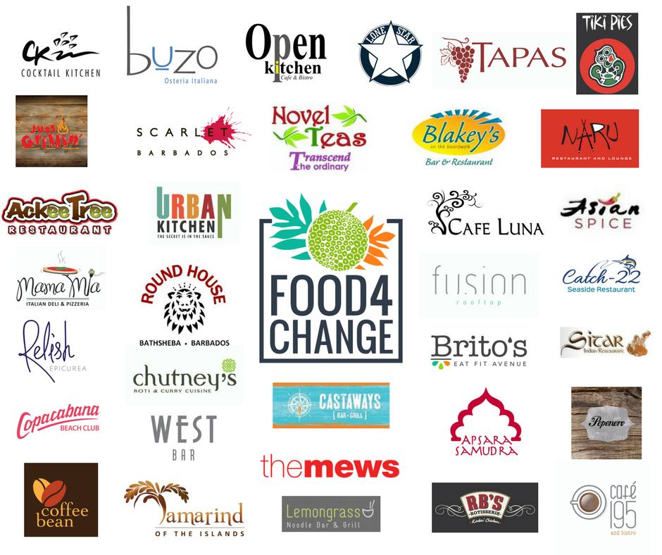 Food4Change Restaurants 2018