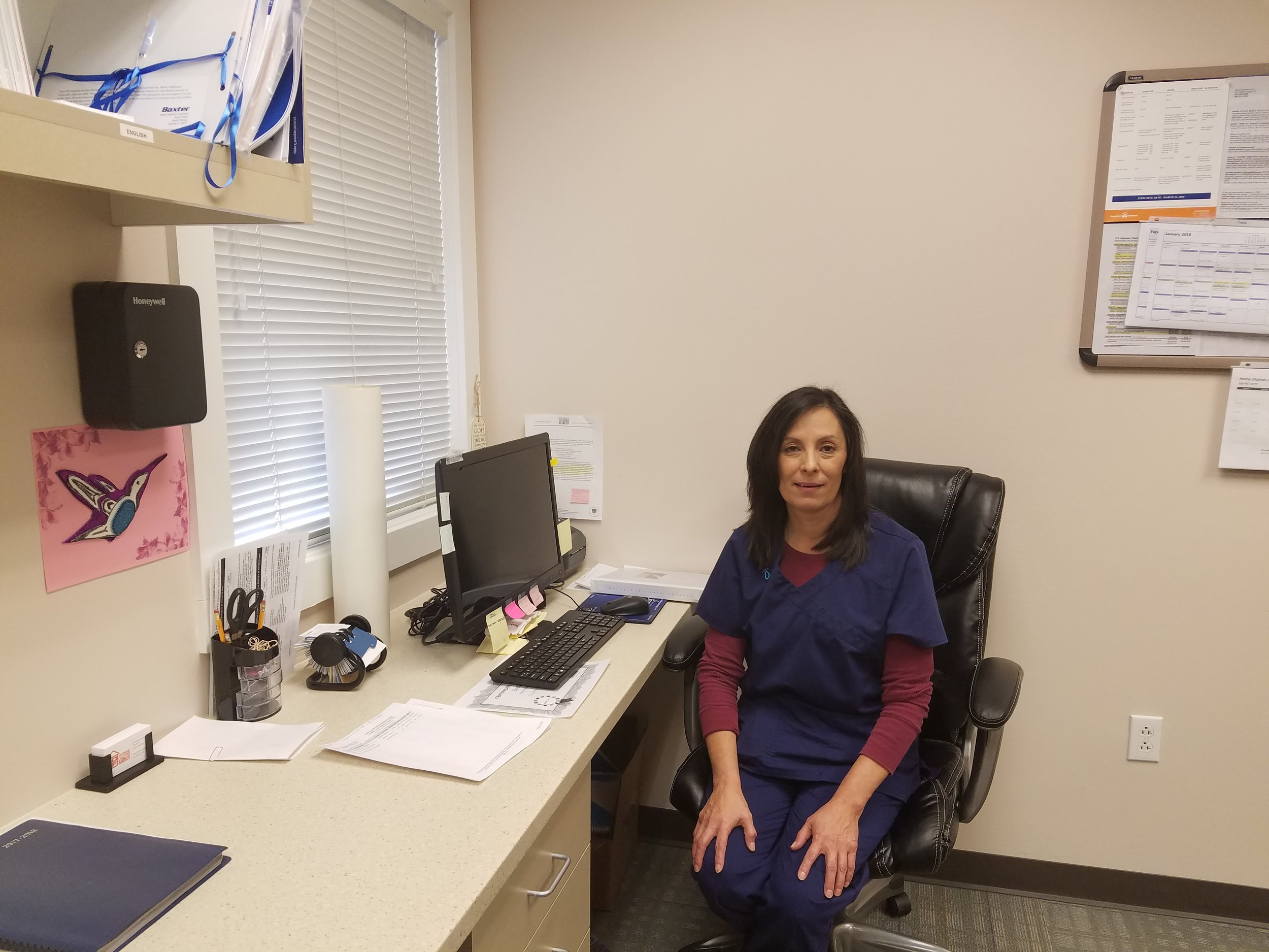 HDSF (Home Dialysis of Santa Fe) Clinic Manager and Nurse - Annette Gonzales.jpg