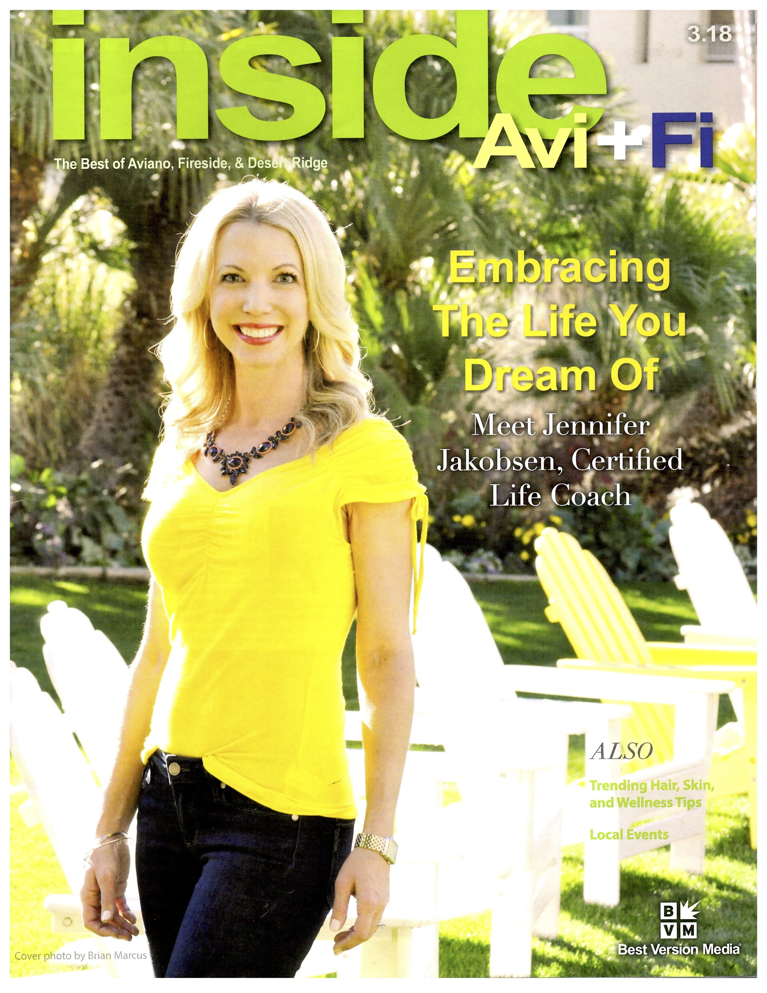 My family and I were featured in Avi+Fi magazine! -