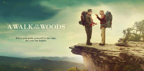 Robert Redford and Nick Nolte on Mcafee's Knob