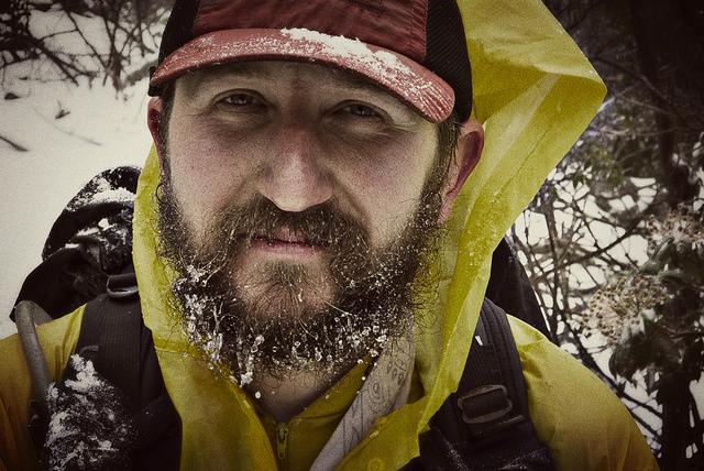 Lightfoot's Frozen Beard, October in Virginia