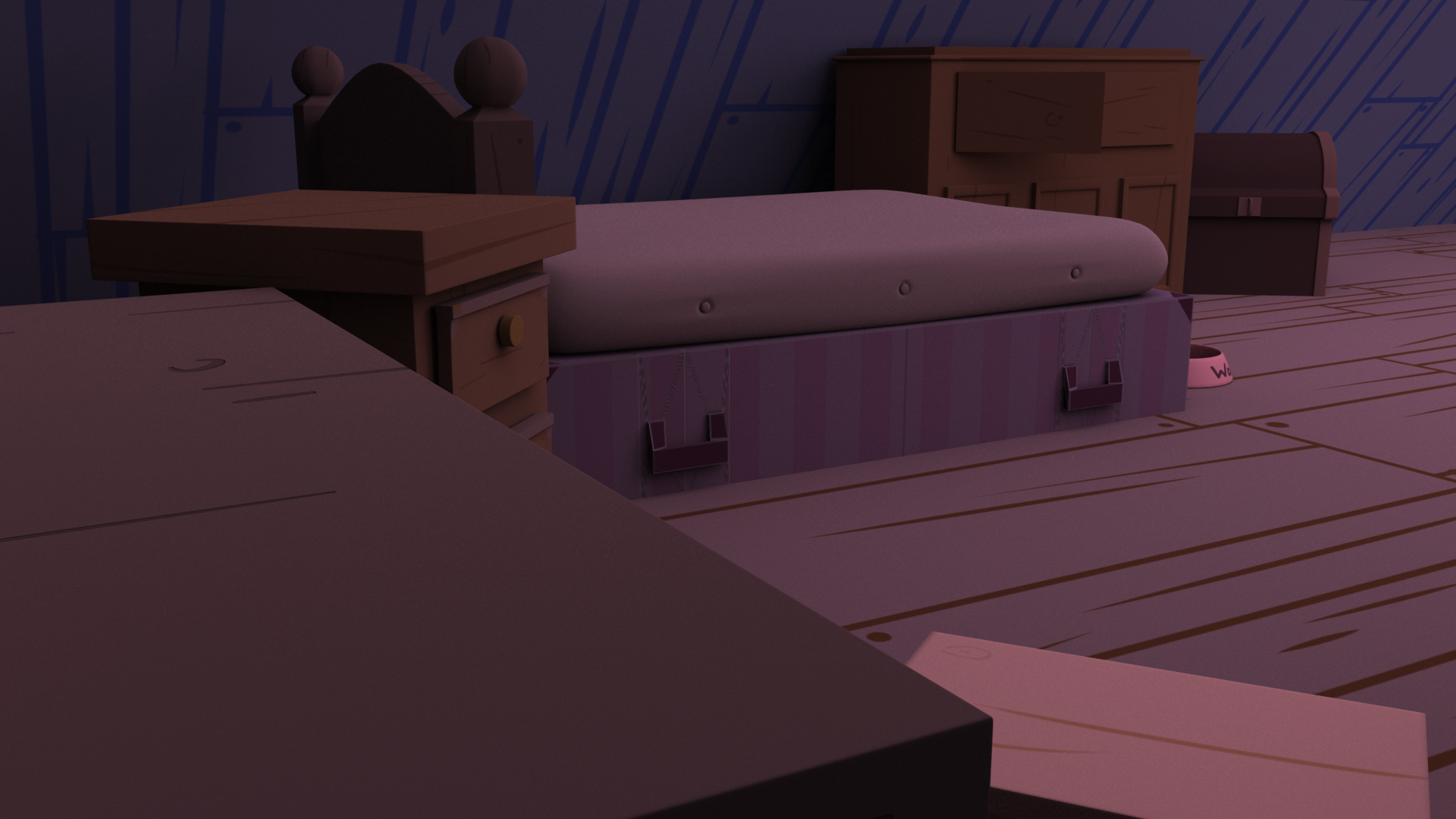 Gravity Falls Bedroom Mock Up - #5
