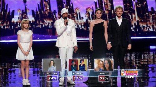 Americas Got Talent Live Polling