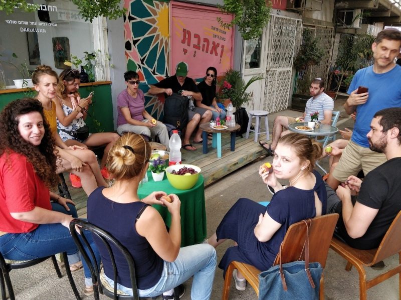 New art in the old shuk: community redevelopment in Afula