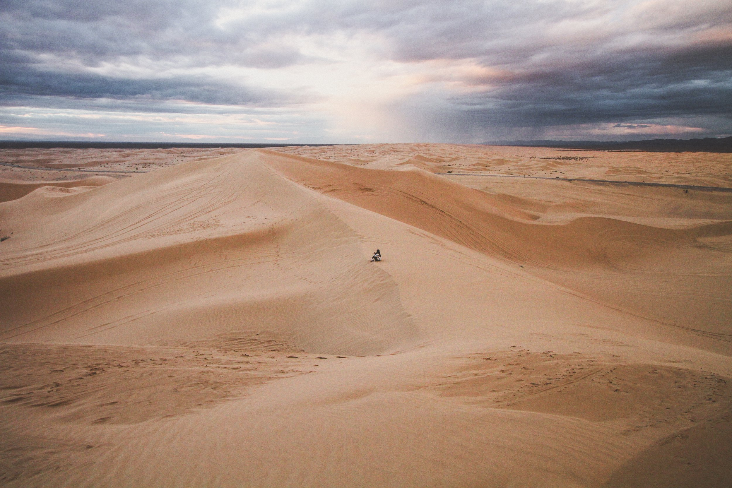 Are you ready for your journey into the desert?  Photo by  Jeremy Bishop  on  Unsplash