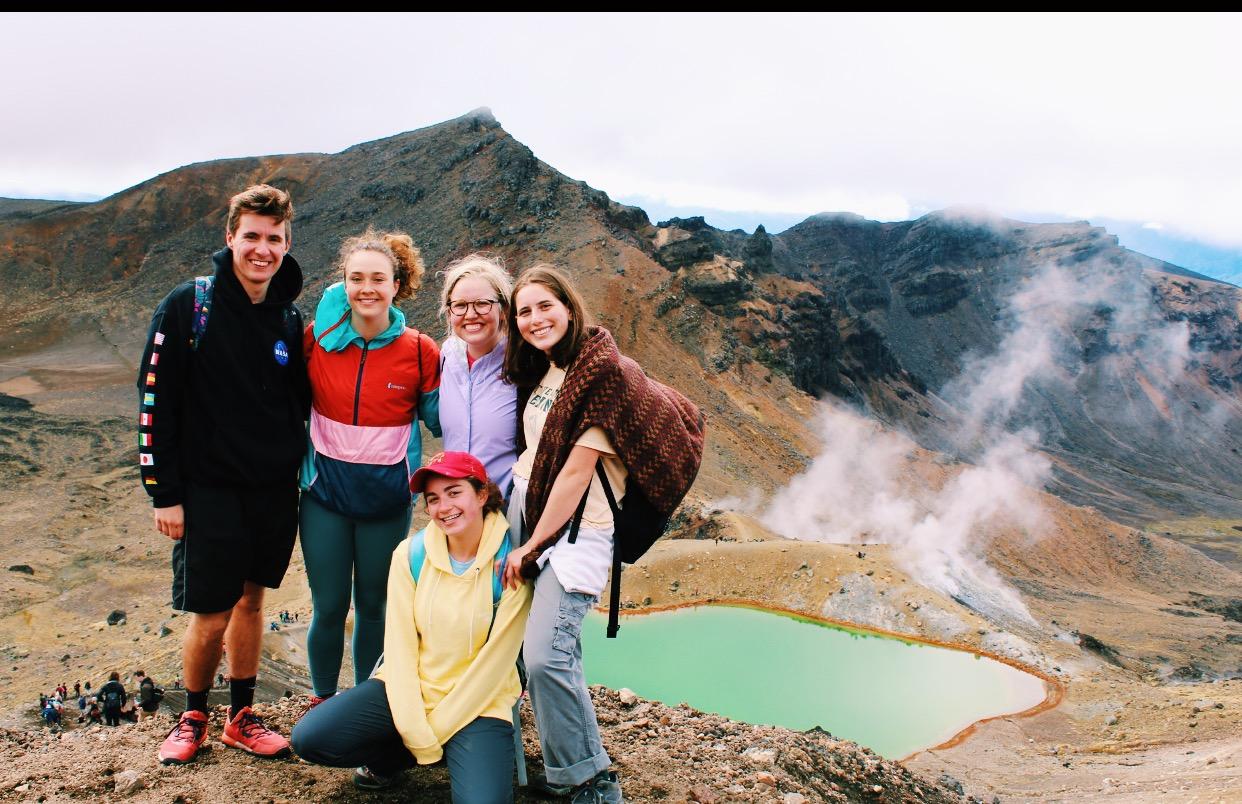 Tongariro Crossing with friends