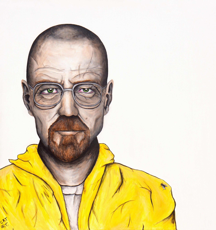 W.W  100cm x 100cm Acrylic on Canvas 2017  Sold