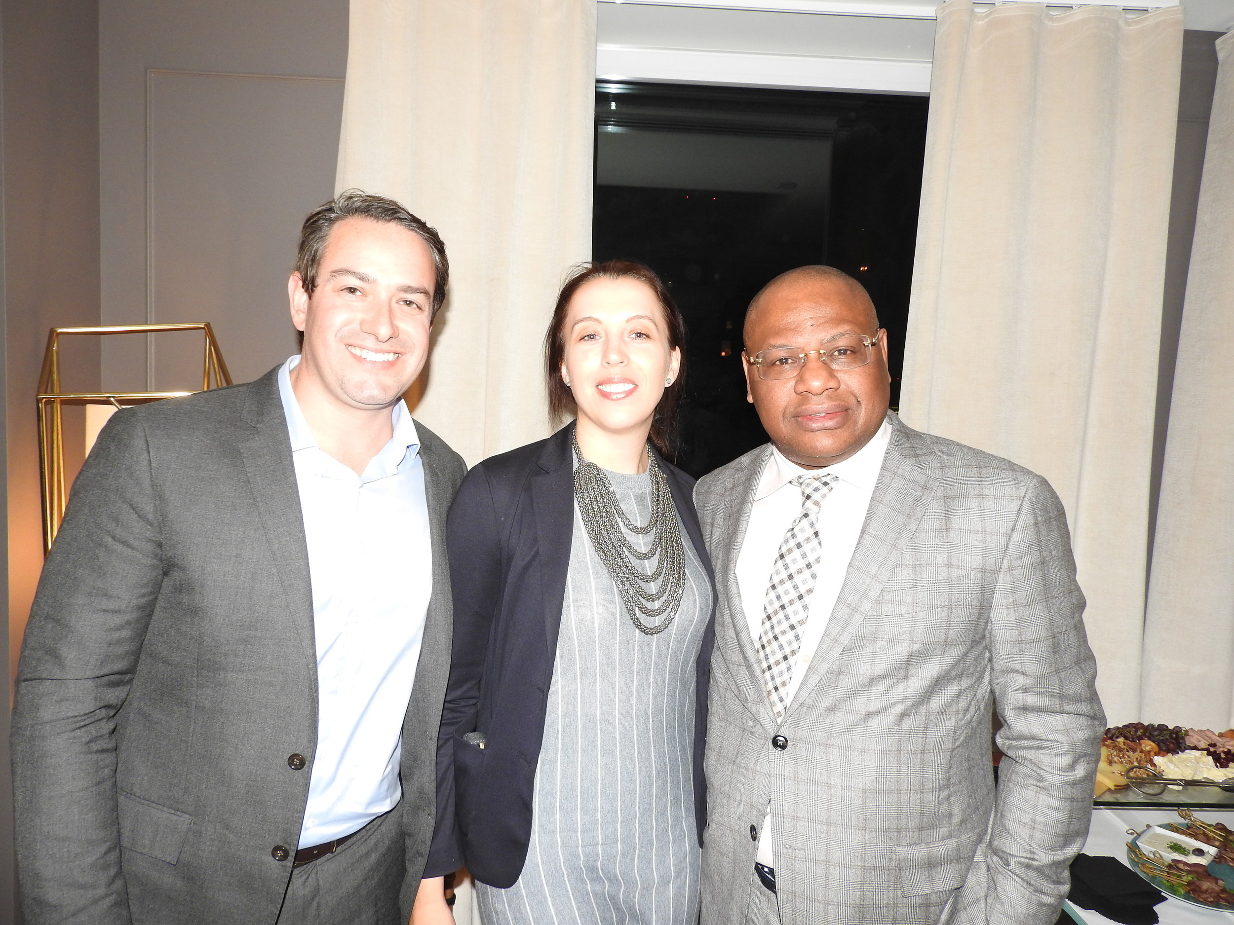 L to R: Steven Grin (Lateral Capital), Aubrey Hruby (Board member), Paul Trustfull (Board member)