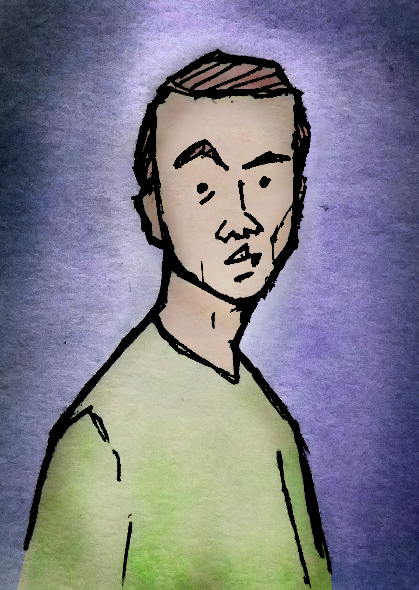 Co-host, podcast mixer and editor, and bio pic artist. Luke is also responsible for the title card for Episode 40.
