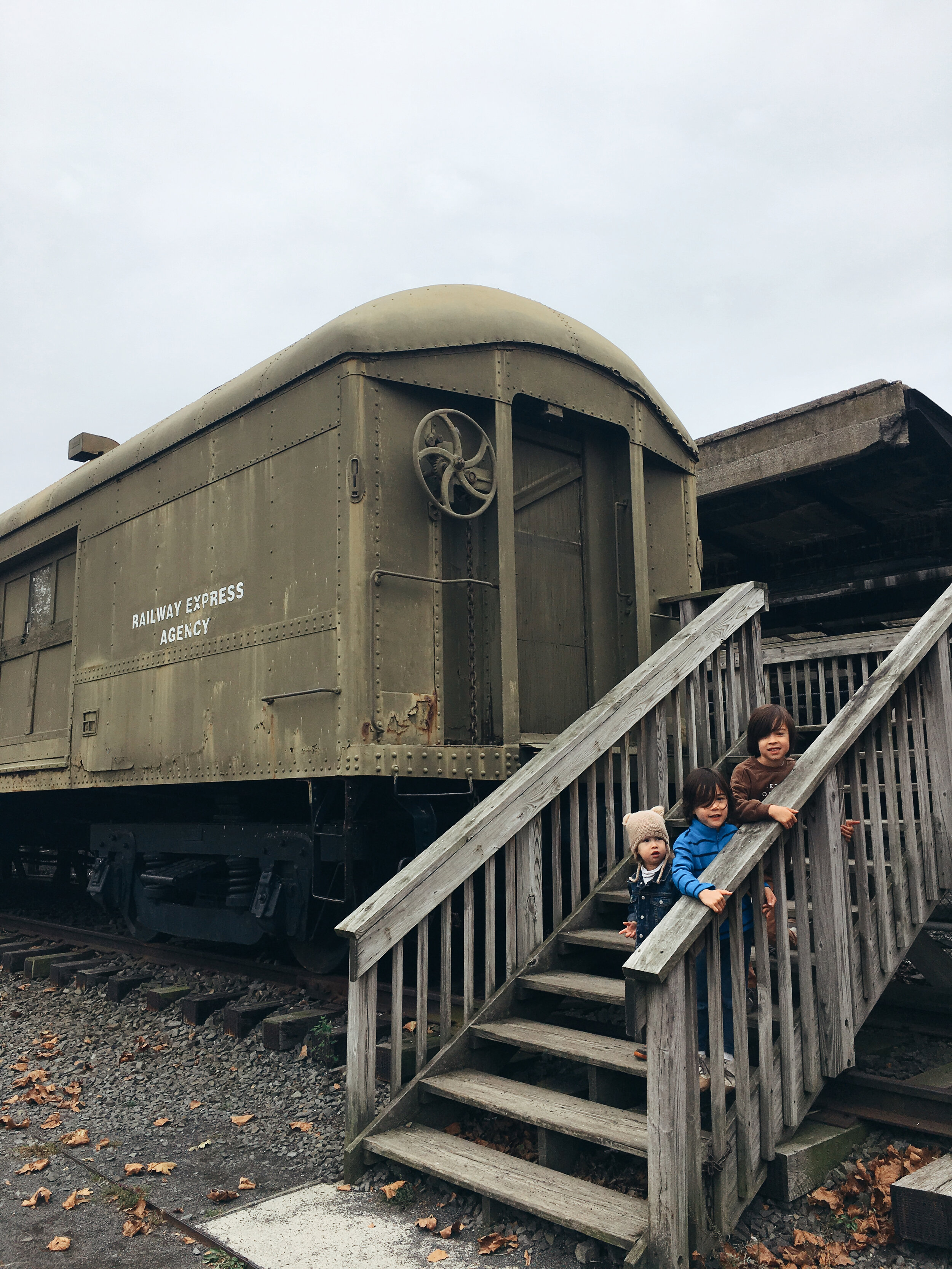 The historic Central Railroad of New Jersey Terminal at Liberty State Park (New Jersey)