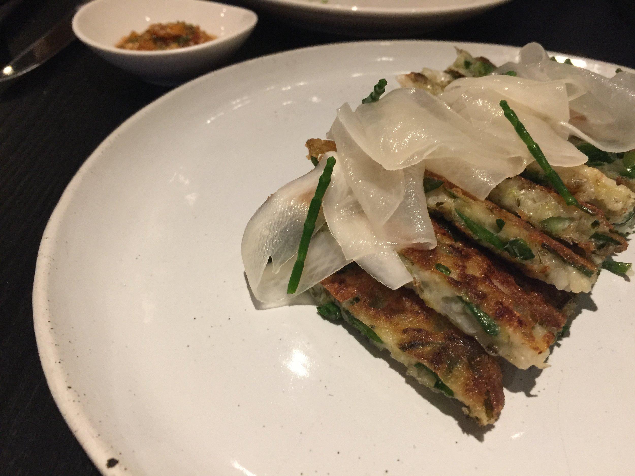 Seafood Korean Pancake