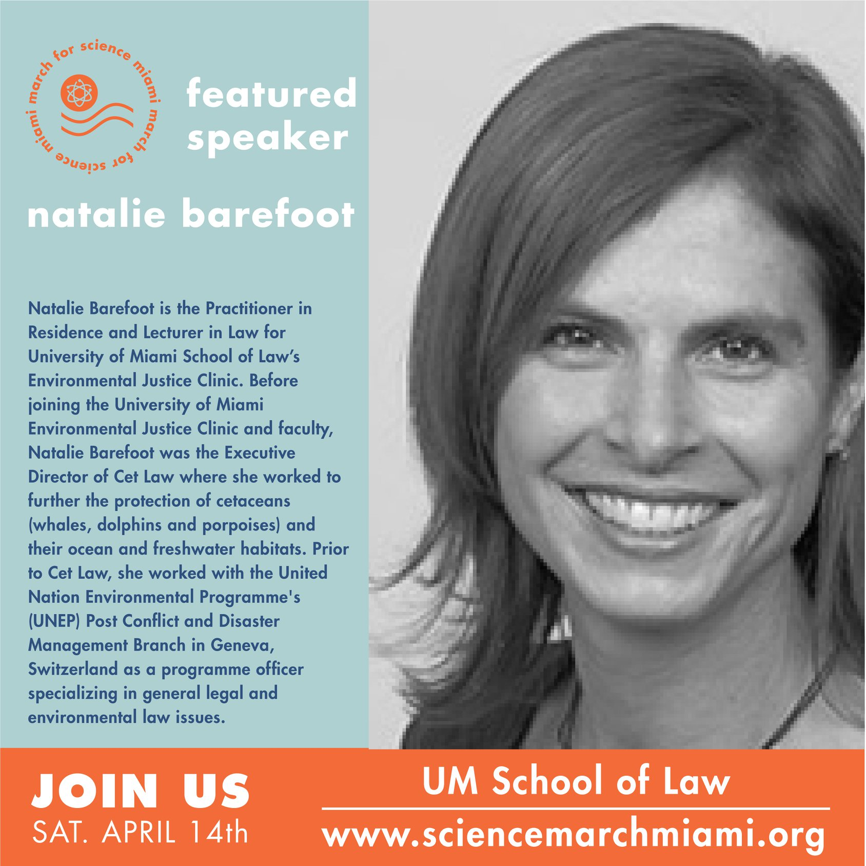 natalie barefoot, esq.   practitioner-in-residence in the university of miami's school of law  environmental justice clinic .